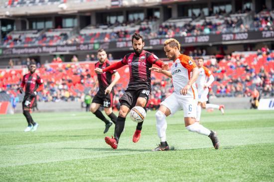 In a tale of two halves, Ottawa Fury FC lose to FC Cincinnati 3-0