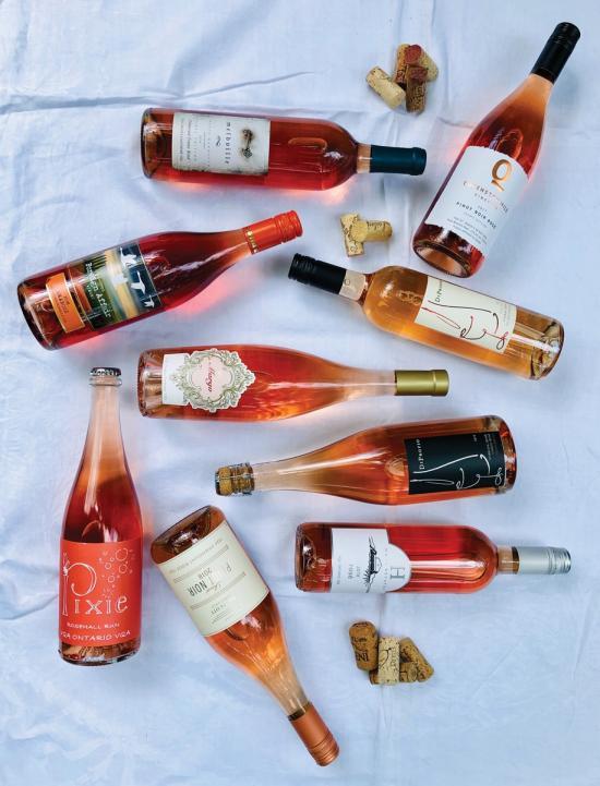 Top four rosé tips