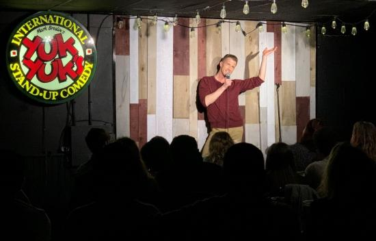 Jesse Reynolds making a splash on the Ottawa comedy scene