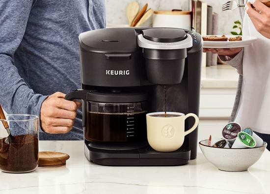 Keurig introduces the K-Duo Single Serve & Carafe Coffee Maker