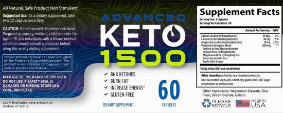 Keto Advanced 1500 Canada: Saskatchewan, Québec, Nova Scotia, Alberta, New Brunswick
