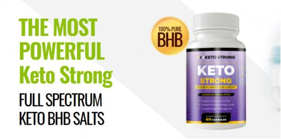 Keto Strong Canada: Real Customers Keto Strong Reviews & Pills Price $39.76 per Bottle