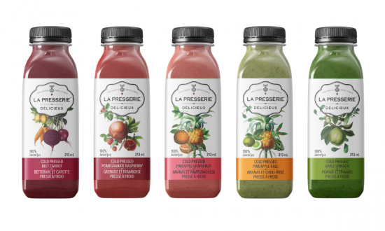 Look for La Presserie cold-pressed juices at select Metro stores
