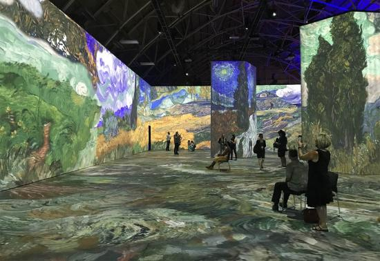 Immersive exhibit at Lansdowne Park makes you feel like you're inside a Van Gogh painting