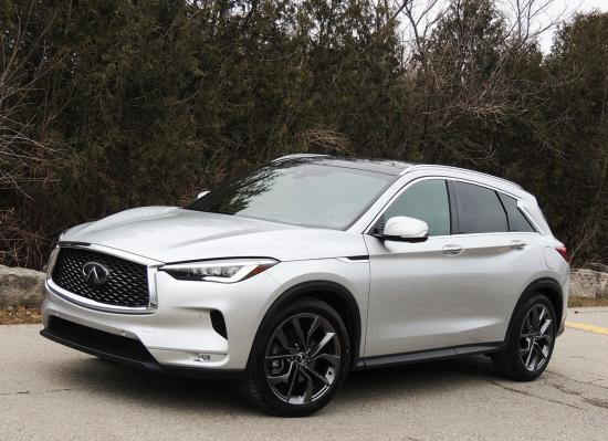 Less toil during winter trek with all-new QX50