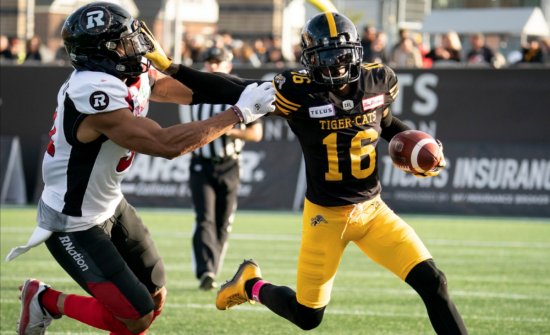 Lewis Ward sets another record but Redblacks fall to CFL-leading Ti-Cats
