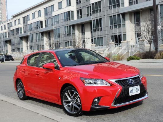 Lexus entry hybrid a chic alternative to Prius