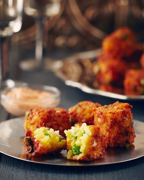 Shrimp and Rice Croquettes