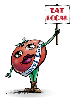 New Year's Resolution - Eat Local