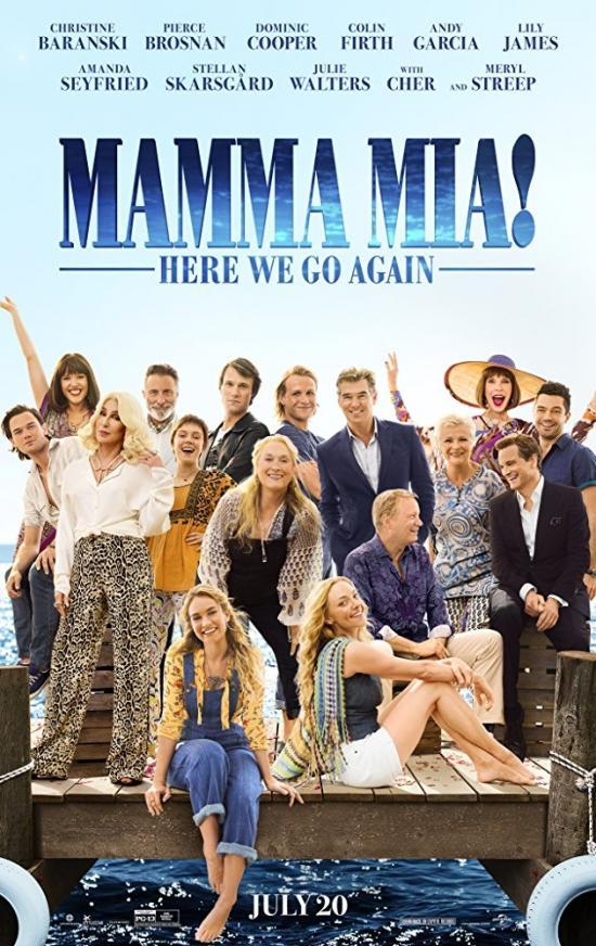 Film Review: Mamma Mia! Here We Go Again