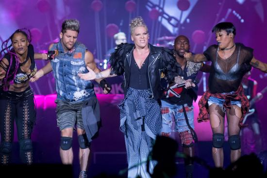 P!NK Flies at Bluesfest