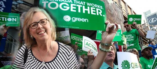 Mayday, Mayday . . . Fed up Liberal and NDP supporters are going Green.