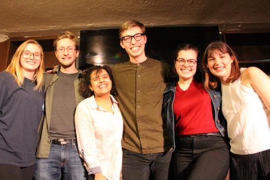Meet the Members of Up and Coming Improv Team Main Branch!