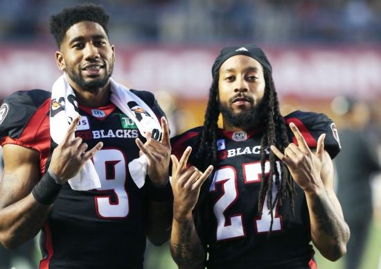 Meet 'The Bros': Jonathan Rose and Sherrod Baltimore Have Merged Fun and Success With the Ottawa Redblacks