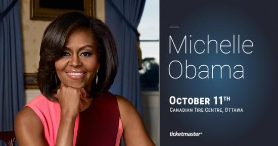Ottawa to host former First Lady, Michelle Obama, next month