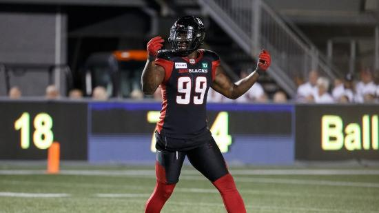 'Minister of Defense': Newcomer A.C. Leonard Making An Impact With Redblacks