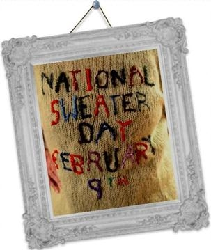Celebrate National Sweater Day!