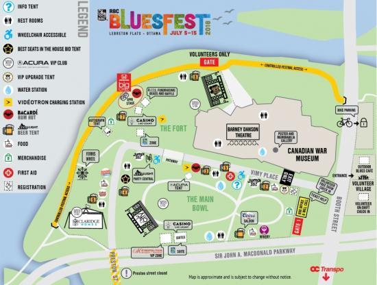 Navigating Bluesfest