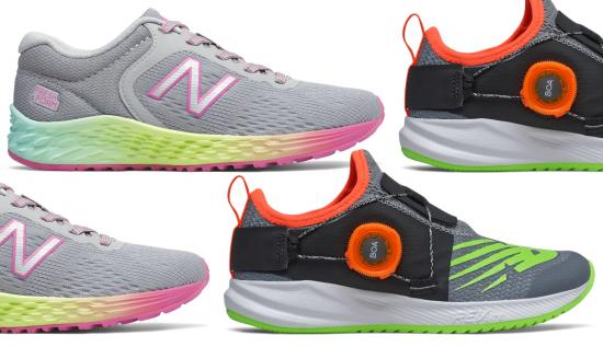 New Balance has the back-to-school shoes for your kids