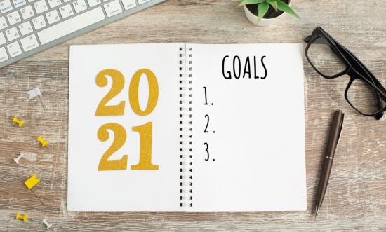 A good place to start 2021— goals not resolutions
