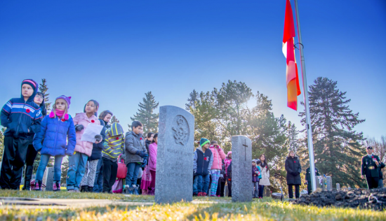 No Stone Left Alone honours the sacrifice of Canada's military on Remembrance Day