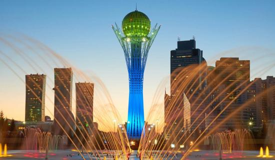 Kazakhstan's Nur-Sultan: where East and West meet on the steppe