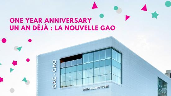 Celebrate a year of the new OAG with workshops, brunch and more