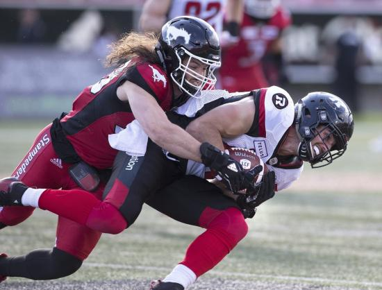 Offense Struggles in Redblacks Loss to Stampeders