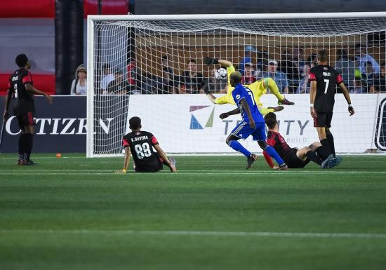 Ottawa Fury lose late to Charlotte Independence 1-0