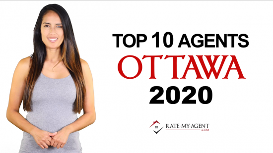 Top 10 realtors in Ottawa for 2020 by Rate-My-Agent.com