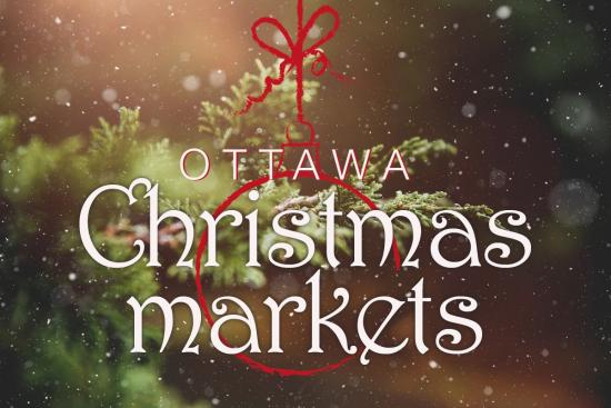 A bunch of Christmas markets kick off in Ottawa this week!