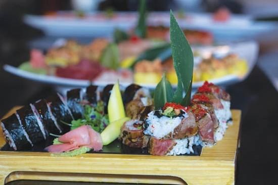 Steamy Sushi