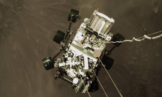 NASA Perseveres on Mars