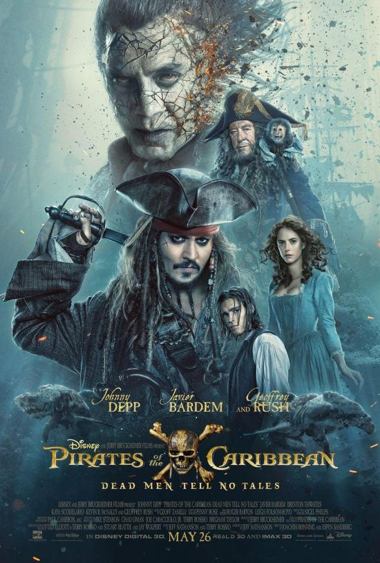 Film Review: Pirates of the Caribbean: Dead Men Tell No Tales