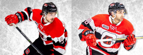 Playoff-Bound Ottawa 67's Bolstered by the Postseason Pedigree of Kyle Maksimovich and Lucas Chiodo