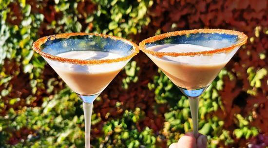Get into the festive spirit with pumpkin-spiced espresso martinis