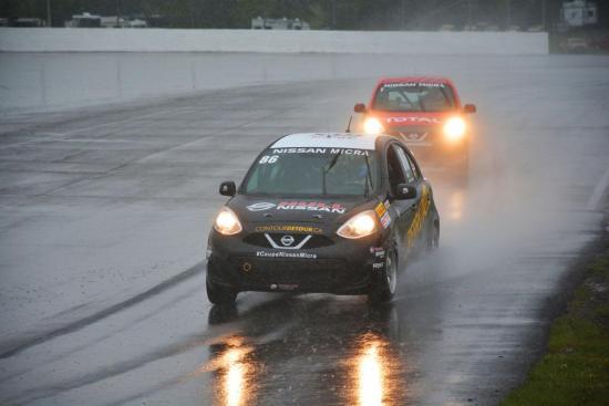 Rain fails to dampen Micra Cup season opener