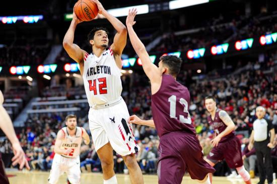 Ravens Men and Gee-Gees Women Win at Capital Hoops Classic