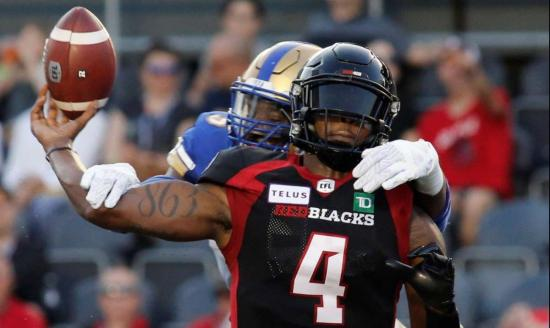Reality check: Blue Bombers hand Redblacks their first loss of the season