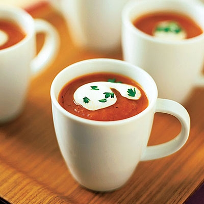 Recipe: Roasted Red Pepper and Tomato Soup
