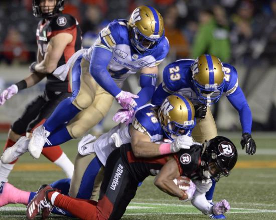 Redblacks Comeback to Force OT, But Ultimately Fall to Blue Bombers