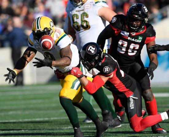Redblacks Contain Mike Reilly in Victory Over Eskimos