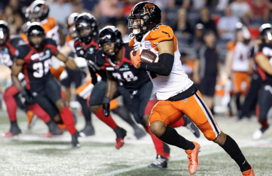 Redblacks continue disheartening slide, lose sixth straight in blowout to the Lions