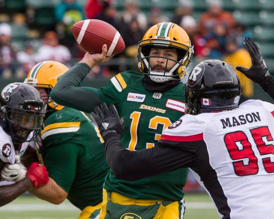 Redblacks Disappear in Second Half Against Eskimos, Lose Second Straight