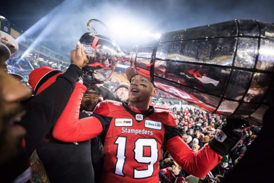 Redblacks Fall Short to Stampeders in 106th Grey Cup