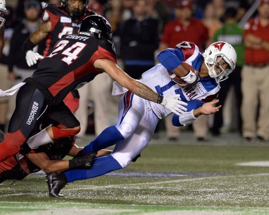 Redblacks Look Flat in Upset Loss to Alouettes