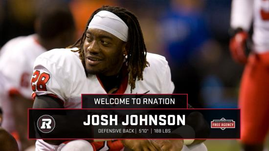 REDBLACKS sign Josh Johnson