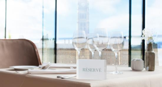 Paging Mark Carney. . .  your table is ready