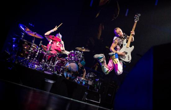 Red Hot Chili Peppers Soar at Canadian Tire Center