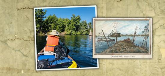 Discovery and escape: five days in a canoe on the Rideau Canal
